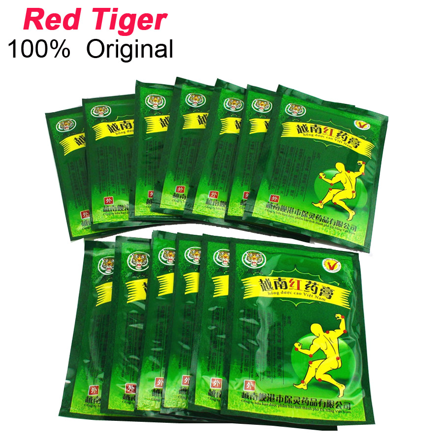 Sumifun 8/16/40/48pcs Vietnam Red Tiger Balm Pain Relief Patch Back Neck Muscle Joint Arthritis Chinese Medical Plaster C075
