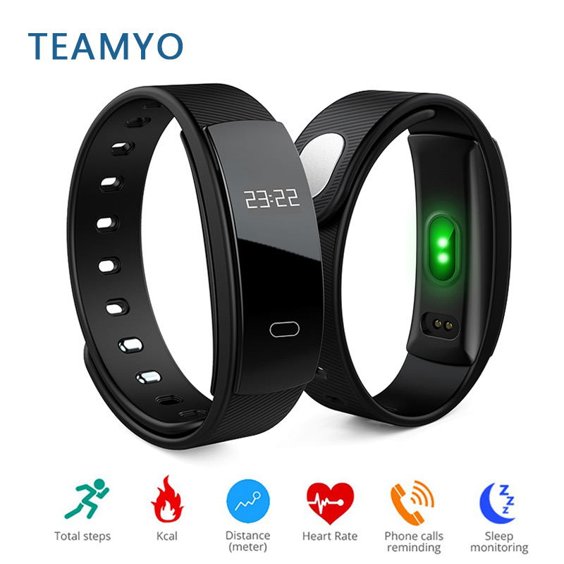 Teamyo Smart watch Blood Pressure heart rate monitor pedometer Clever bracelet Activity tracker cardiaco smart wristband