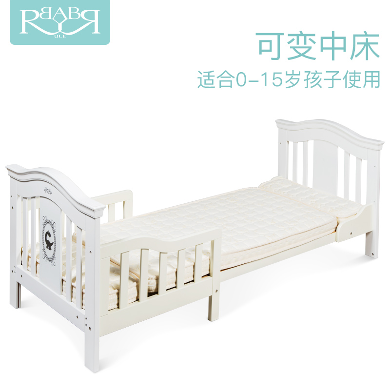 2017 new babyruler high-end cribs solid wood European environmental game bed 0-10 year old child bed цены онлайн