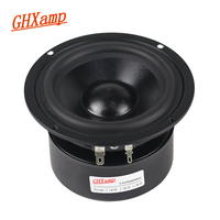 GHXAMP HIFI 4 INCH 70W Woofer Mediant Subwoofer Speaker Low Frequency HIFI Desktop Bookshelves Home Theater