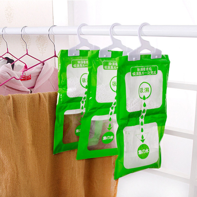 Home Closet Wardrobe Hanging Drying Clothes Moisture Mold Desiccant  Dehumidification Moisture Absorption Deodorant Dehumidifier