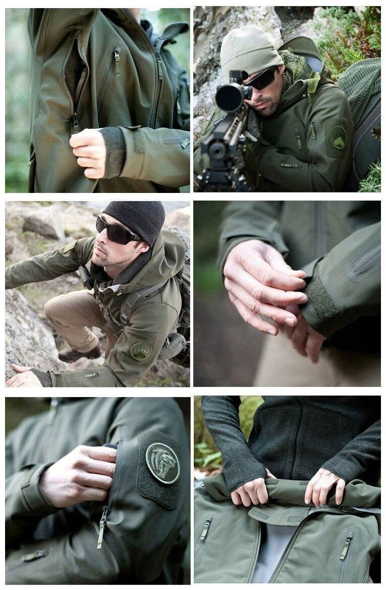 livre ternos de caça militar à prova