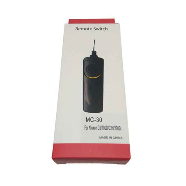 10 Cái/lốc MC 30 Từ Xa Màn Trập Phát Hành Điều Khiển Dây N D3X/D2X/D700/D300/D300s/ d200/D800/D810 Jecksion *