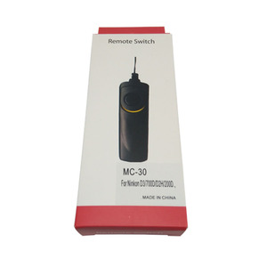 Image 1 - 10pcs/lot MC 30 Remote Shutter Release Control cord for N D3X/D2X/D700/D300/D300s/D200/D800/D810 Jecksion *