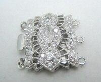 Free Shipping** Diy pearl quality crystal diamond jewelry necklace bracelet clasp 014