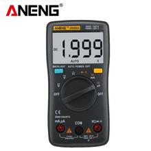 1999 counts LCD digital multimeter AN8004 voltmeter ammeter resistance tester DC / AC 750 / 1000V and volt ohmmeter with cord цена 2017