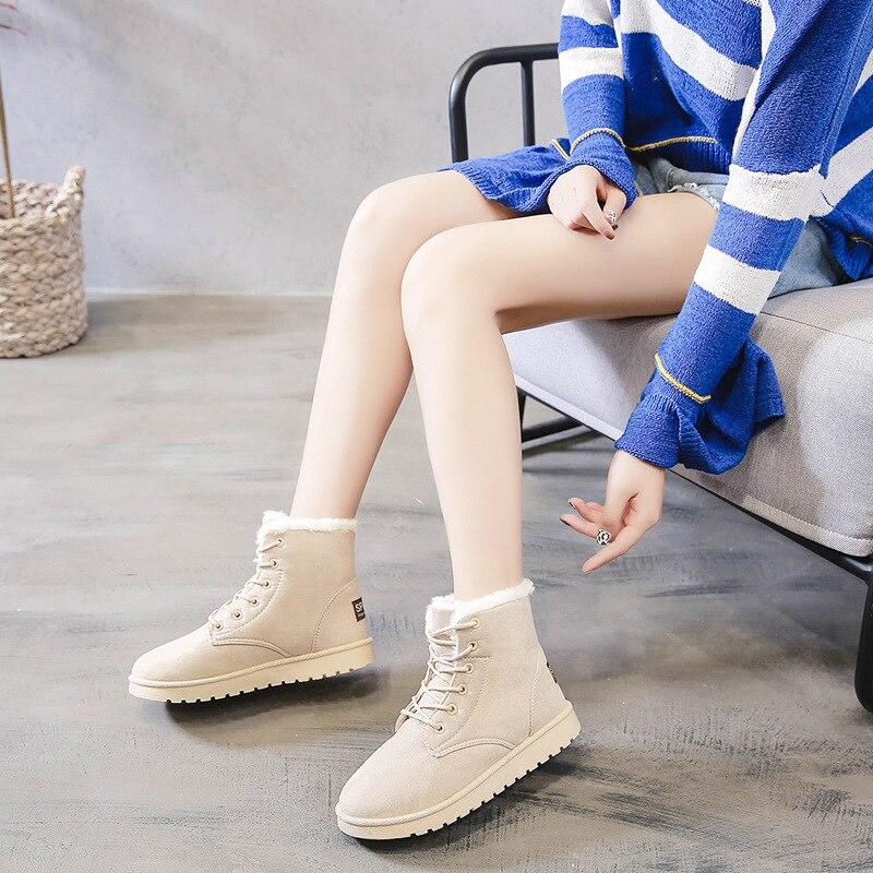Black Mujer pink Botas gray Sapato Cuadrado Mujer beige Botines Bajo 2018 Grueso Zapatos De Moda Chicas brown Tacón XBqfxdwTOA