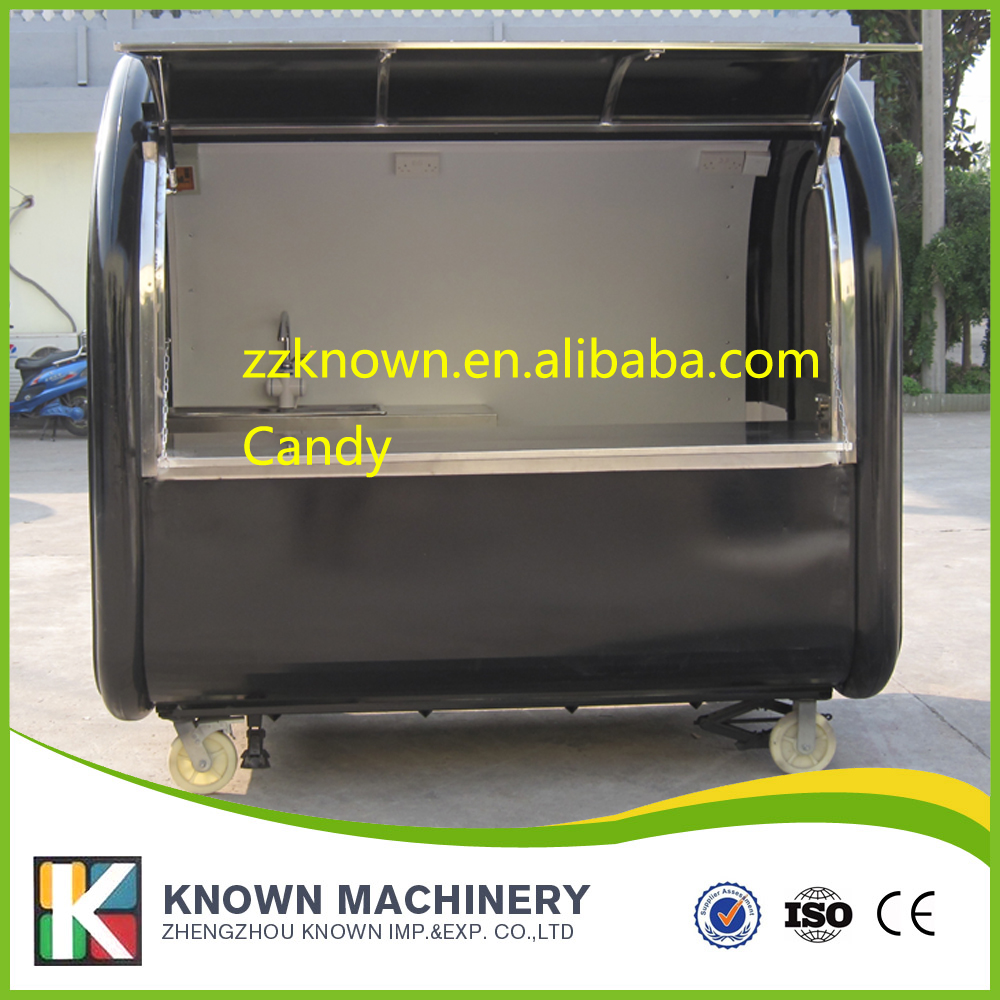 fast food trailer Customized mobile car mobile food cart fast food car with competitive price