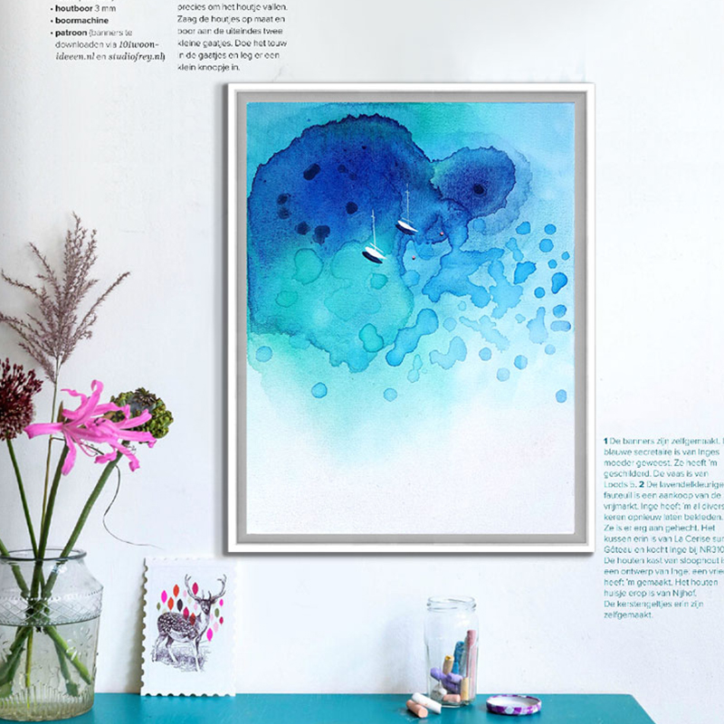 Buy Watercolor Seascape Paintings And Get Free Shipping On
