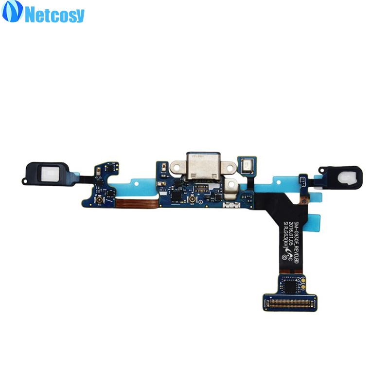 Netcosy For Samsung Galaxy S7 G930F USB Charger Flex Cable Charging Connector Dock Flex Cable repair For Samsung Galaxy S7 G930F