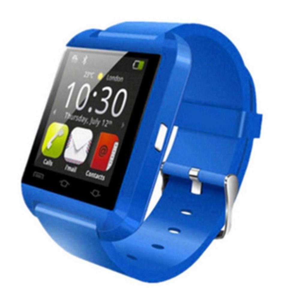 Partneruhren U8 Schrittzähler Bluetooth Smart Uhr Herz Rate Monitor 1,44 Inch Oled Wasserdichte Ip67 Smartband Gesundheit Tracker Armbanduhren Bequem Und Einfach Zu Tragen