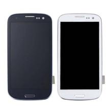 """100 PRUEBA DE 4,8 """"AMOLED para SAMSUNG Galaxy S III de S3 pantalla LCD pantalla digitalizador i9300 i9300i i9301 i9301i i9305 piezas de repuesto"""