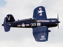 ФМС 1700 мм 1,7 м (66,9 «) F4U Corsair 6 S 6CH с клапанами втягивается PNP самолета большой Warbird неподвижным крылом модель самолета Avion