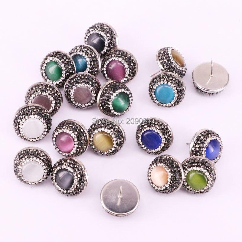 pendientes Collar Colgante de Cristal con Diamantes de Imitación Perla Separadores