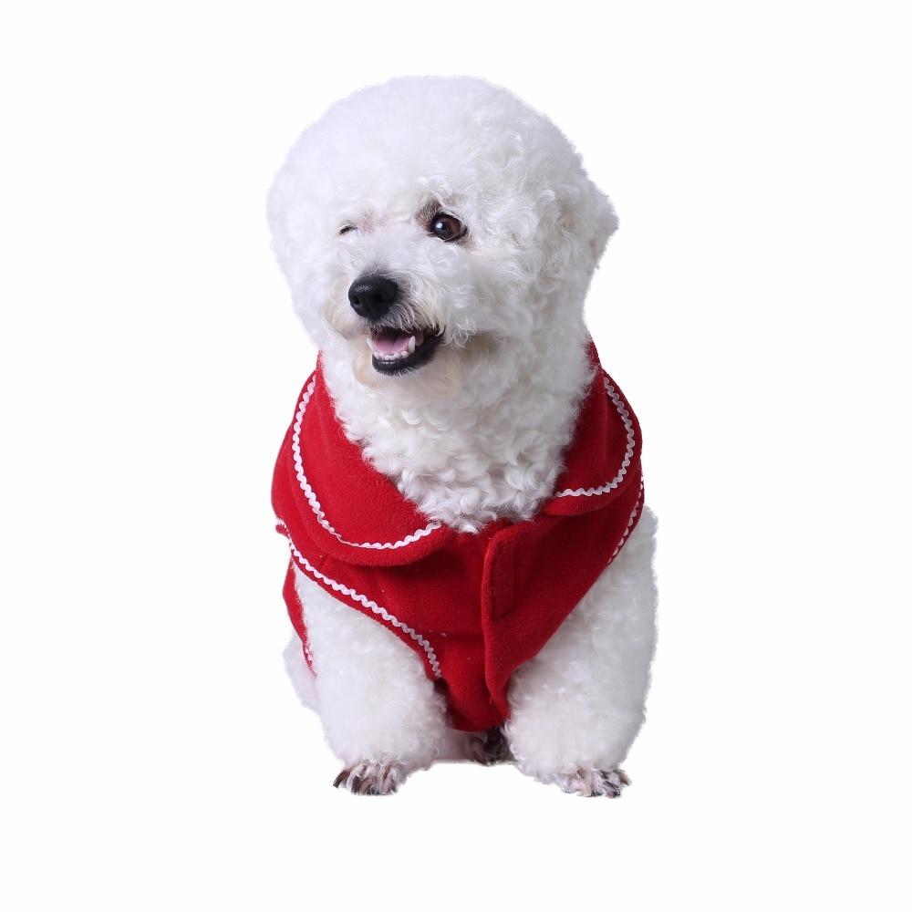2017 new pet cat supplies pet cat retro red suit