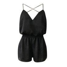 Summer hot jumpsuit cross V-neck trumpet sleeves flower print straps short jumpsuit Mono de verano caliente#JE-55