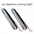 new arrival 2 pieces DRL Super White 30 LED Car Daytime Running Light DRL with Turn Lights Car Led Auto Parking lamp