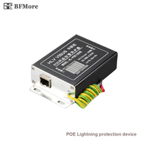 BFMore POE IP Camera Network POE Switch RJ45 POE Surge Protector Protection Device Lightning Arrester SPD