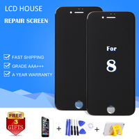 100 Tested LCD Screen For IPhone 8 8G LCD Display With 3D Touch Screen Digitizer Assembly
