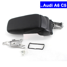 Car Armrest Storage-Box Center-Console 2004 1998 Audi for A6 C5 1998/1999/2000/..