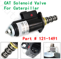 Часть #121-1491 1211491 KWE5K-31 G24DA30 CAT Соленоидный клапан для гусеницы E320B/C/D 315C 325C экскаватор клапан электромагнитного поворотного механизма