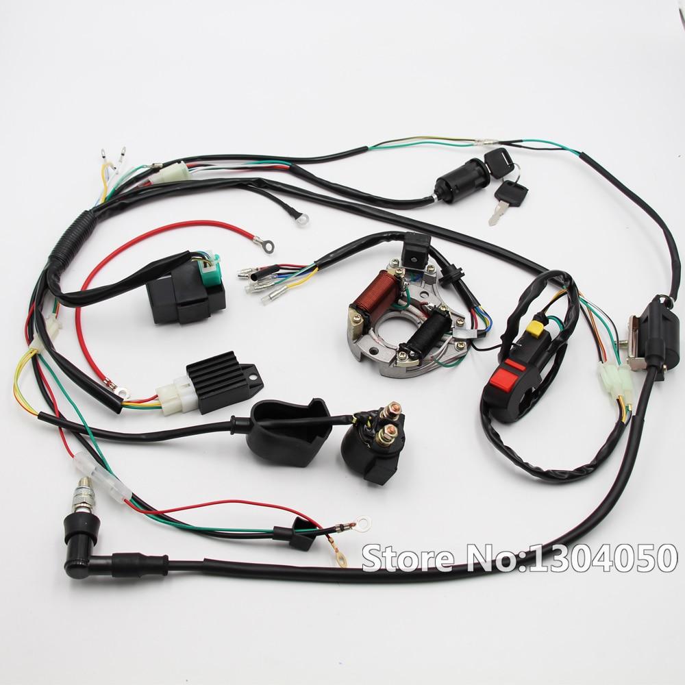 Complete Electrics Coil CDI Magneto Stator Wiring Harness ATV KLX Stator  50cc 70cc 90cc 110cc 125cc top NEW
