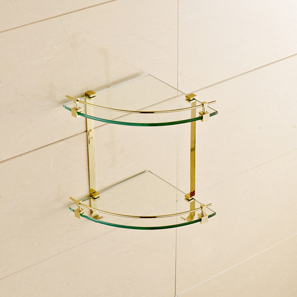 Bathroom Glass Corner Shelves Shower 70 glass corner shelf bathroom ...
