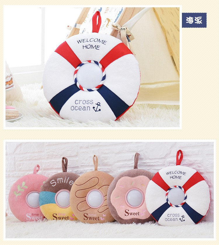 The best gift Metoo donut plush toy Nightlight luminous toy baby toy gift just light sleep comfort children friends (21)