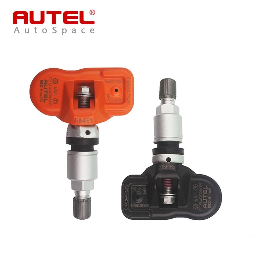 ФОТО Autel MX-Sensor 315 433 MHz Universal Programmer TPMS Tire Pressure Sensor for MxSensor MaxiTPMS Pad 315MHz 433MHz Tyre Sensors