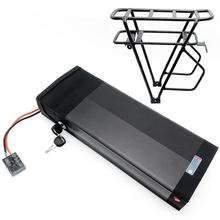 Taillight Frame Ebike Electric-Bicycle Li-Ion-Battery Rear-Rack 48v 20ah Charger 1500W