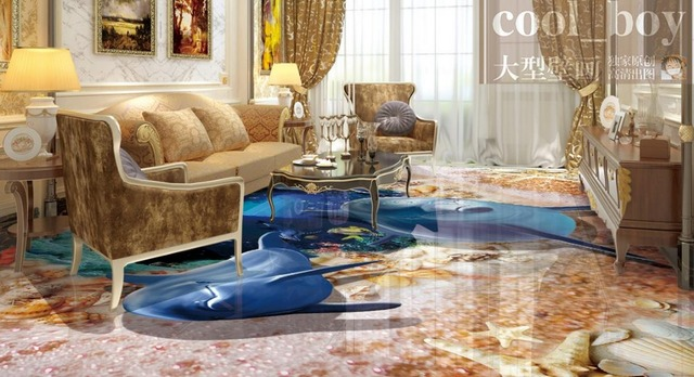 Piscina mosaico pool piastrelle mosaico in vetro immagine delfino