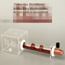 7 Colors Bamboo Glass Tubes Ant Nest With Active Zone Ants Castle Workshop Ants Villa Kids