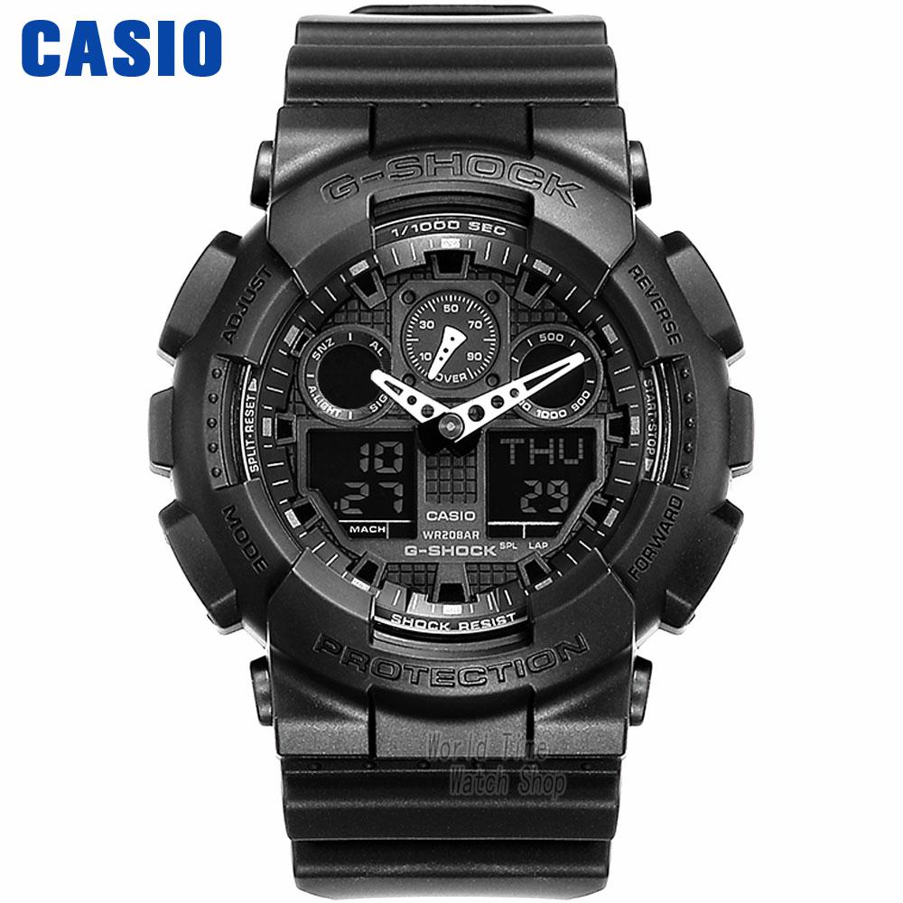 Casio Multifunctional Outdoor Sports Waterproof Men's Watches GA-100-1A1 GA-100-1A2 GA-100-1A4 GA-100A-7A GA-100BW-1A комбайн as seen on tv reverso
