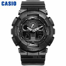 Casio WATCH Multifunctional Outdoor Sports Waterproof Men's Watches GA-100-1A1 GA-100-1A2 GA-100-1A4 GA-100A-7A GA-100BW-1A