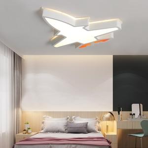 Image 5 - ילדי ילדי חדר תאורה מודרני תקרת מנורת plafondlamp led תינוק חדר שינה מחקר חדר Luminaria LED תקרת אורות