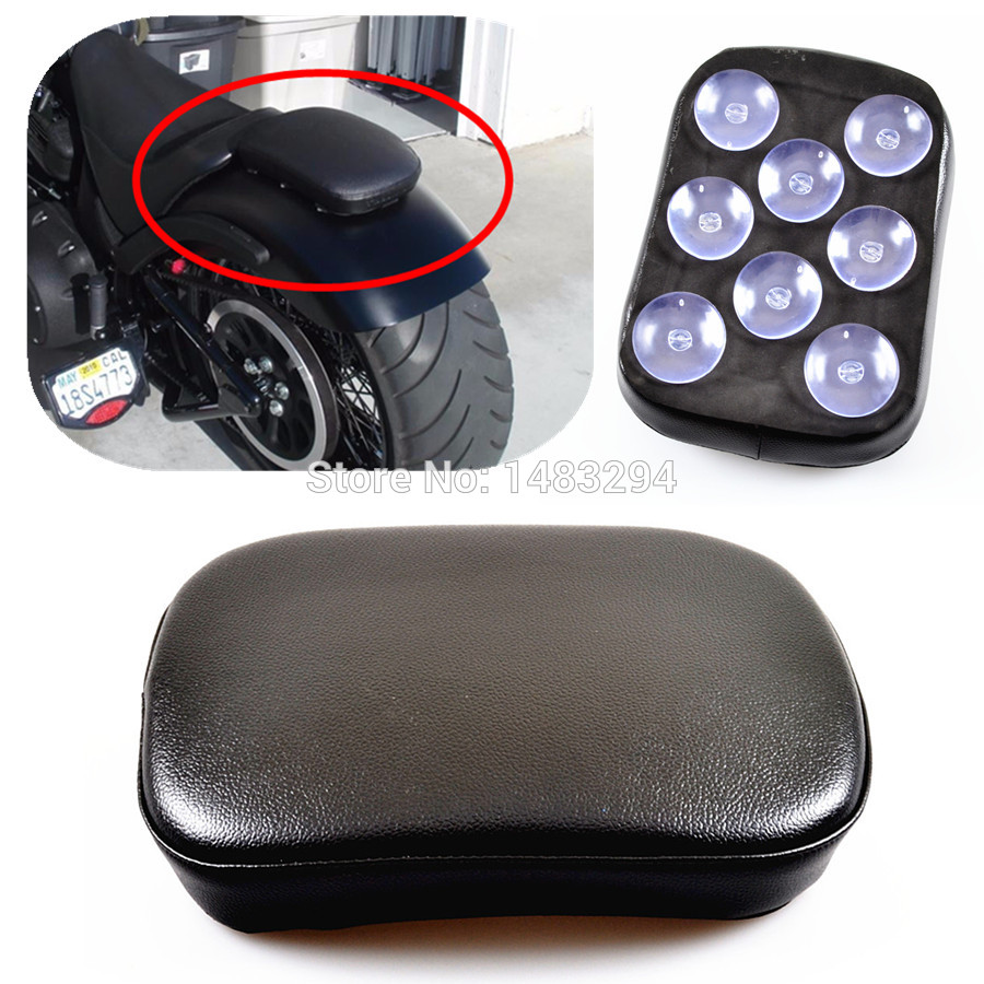 Motorcycle Rear Fender Solo Suction Seat Case For Harley Davidson Triumph Honda Yamaha Kawasaki Suzuki