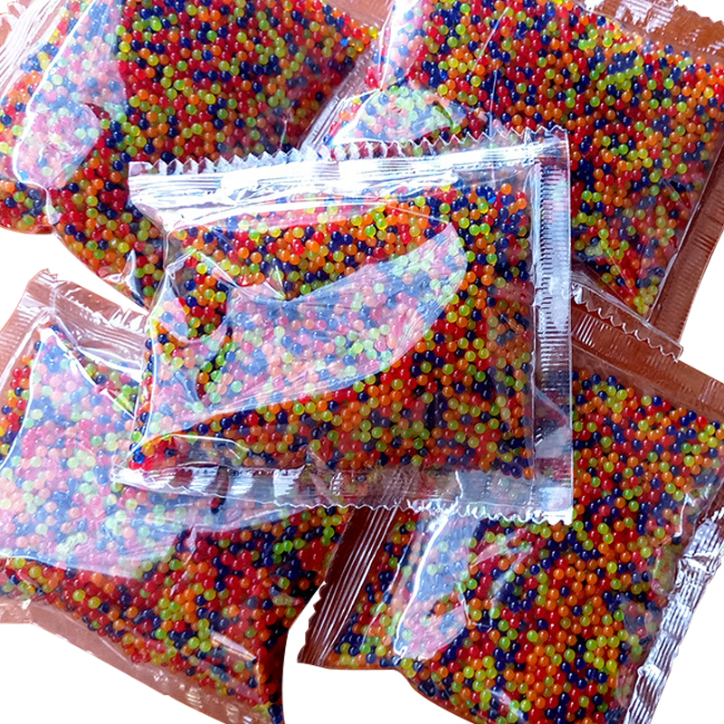 10000pcs/packet Colored Soft Crystal Water Paintball Gun Bullet Grow Water Beads Grow Balls Water Gun Toys 11-13mm 9-11mm