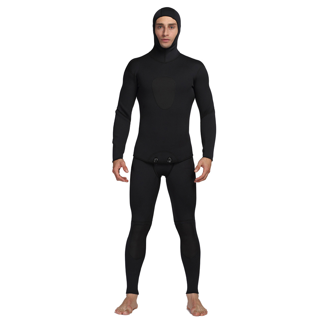3mm Neoprene Diving Suit For Men Swimming Surfing Jump Suit Surfacing Warm Wetsuit Suspender Trousers And Jacket 2pcs/set3mm Neoprene Diving Suit For Men Swimming Surfing Jump Suit Surfacing Warm Wetsuit Suspender Trousers And Jacket 2pcs/set