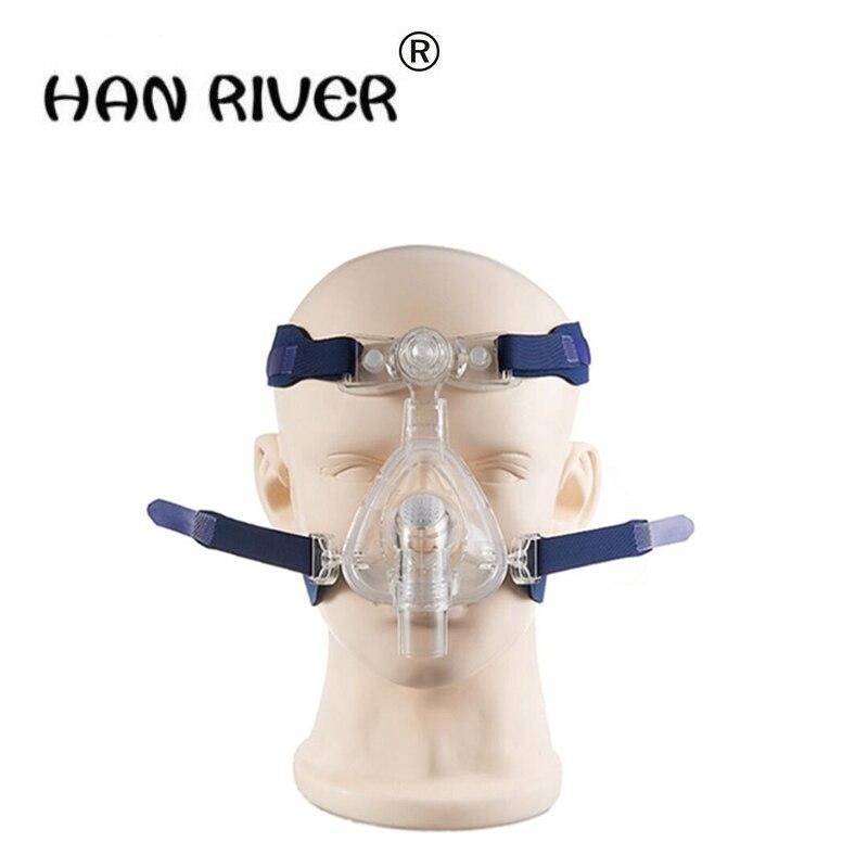 2017 masque de nez de ventilateur de haute qualité pour l'apnée du sommeil tout usage avec tête et accessoires de machine respiratoire à la maison offres spéciales