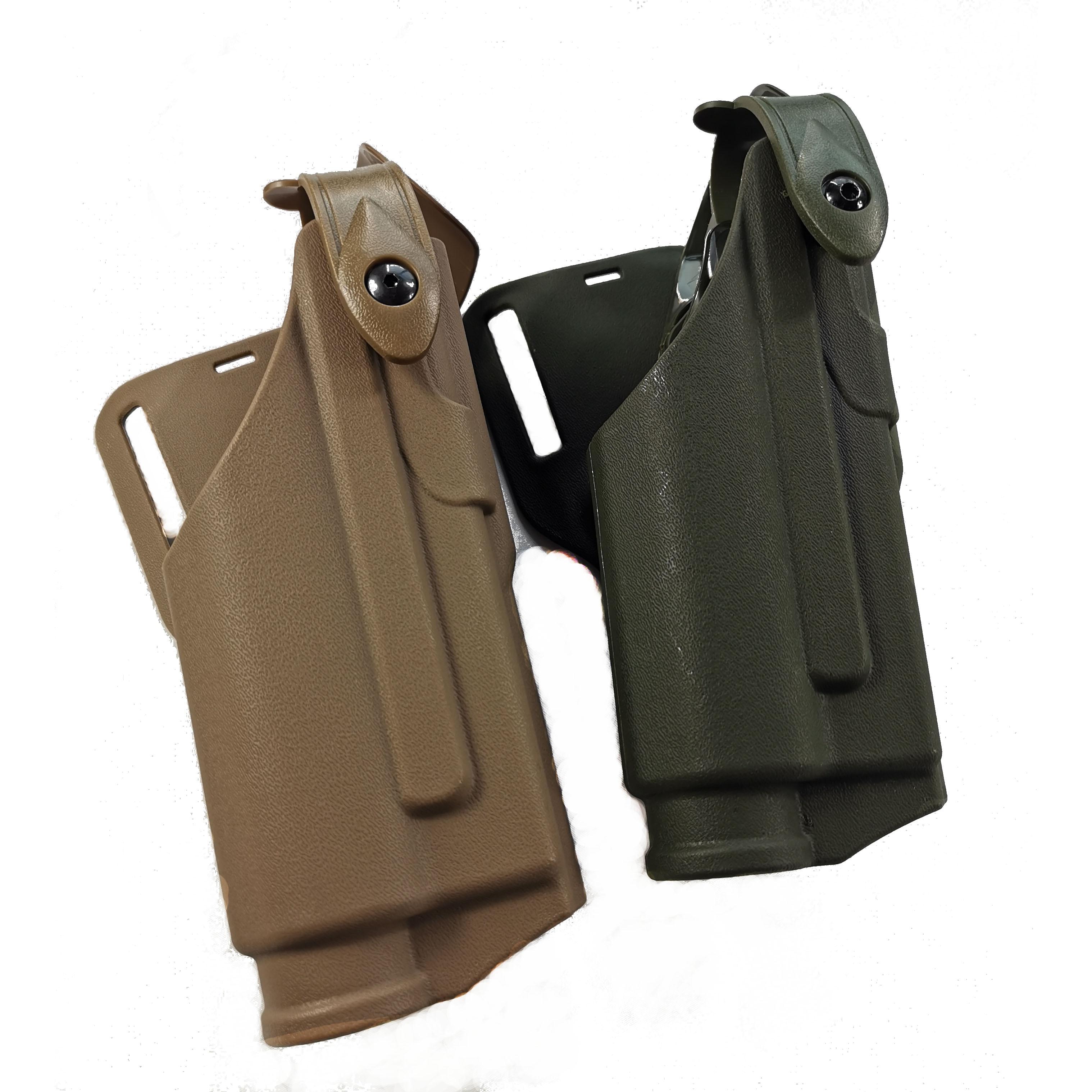 Airsoft Glock Pistol 17 19 22 23 31 32 Belt Holsters Bearing Flashlight Tactical Light Bearing Glock Holster