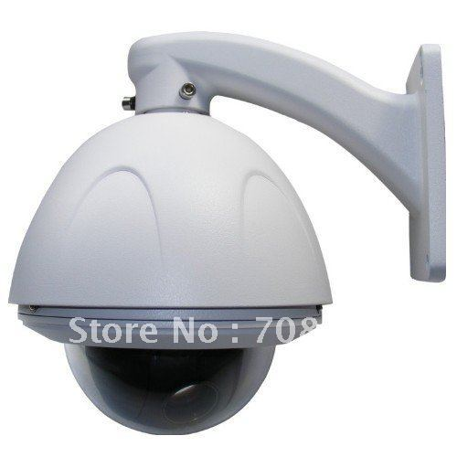 Samsung(SDM-100P ),500TVL,10X Optical zooming,10X digital zooming, MINI High Speed PTZ Dome Camera