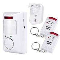Home Security PIR MP Alert Infrared Sensor Anti Theft Motion Detector Alarm Monitor Wireless Alarm System