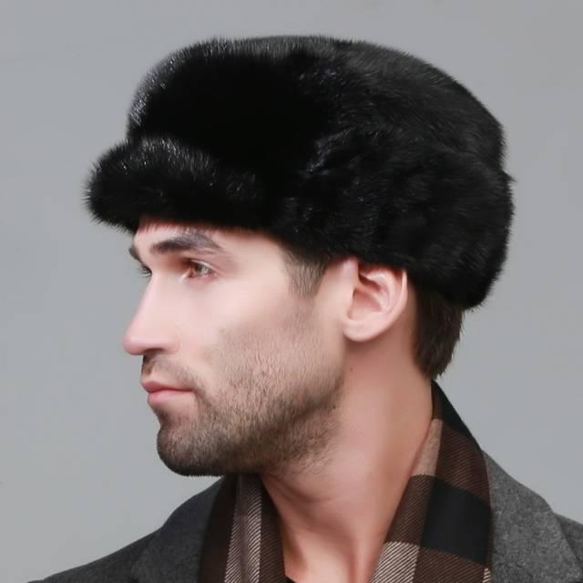 3a15afdfc9a2f winter Super warm snow show men ear muffs rex mink model same Russian style  cap autumn