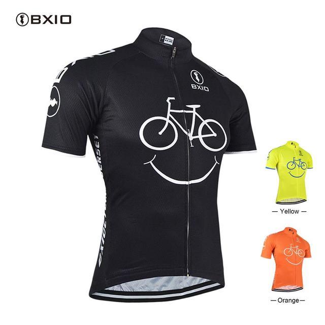 BXIO רכיבה על אופניים ג רזי Ropa Ciclismo Mujer הרי אופני בגדי שרוול קצר אופניים בגדי מהיר צעד מחזור חולצה 085 J