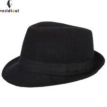 VERIDICAL Original Unisex Structured Wool Fedora Hat Fedora hats for men  Jazz fedora felt hat head 1cb9a5a8541c