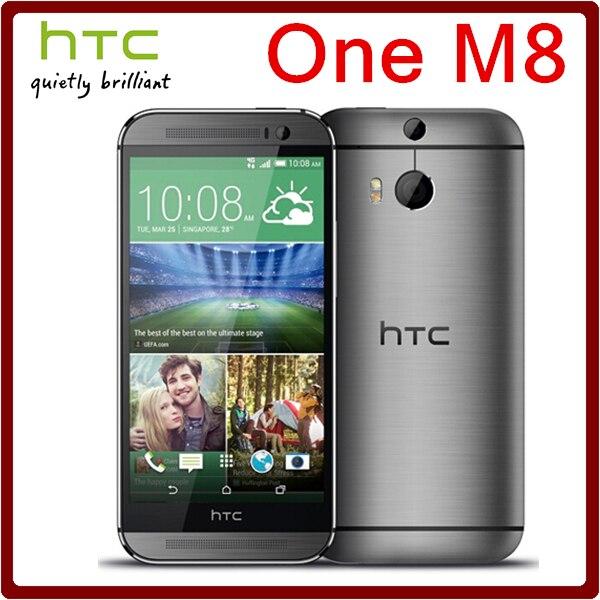 bilder für M8 Ursprüngliches Entriegeltes HTC One M8 5MP 2600 mAh LTE 4G 32 GB ROM 2 GB RAM Quad Core 5,0 3 Kamera Touchscreen Smartphone Kostenloser Versand