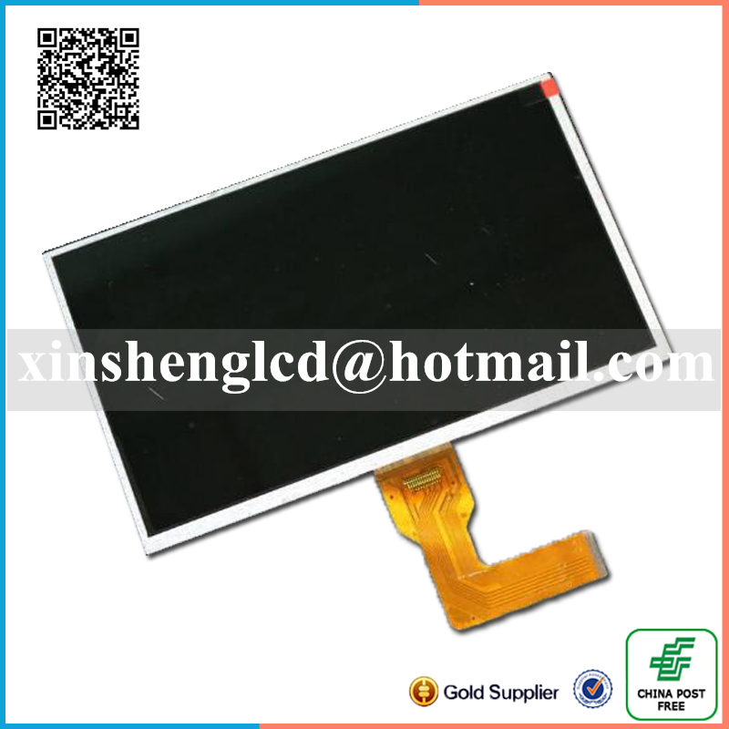 10 1inch 40pin lcd display screen matrix For Polaroid MID4810 Glass Replacement Free Shipping