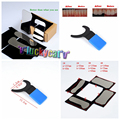 4Pcs Orthodontic Dental Intraoral Clinic photography Mirror +1Pc Blue Background Board