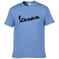 Vespa T Shirt Men 2017 Funny Vespa T Shirt 100 Cotton Summer Short Sleeve Round Neck