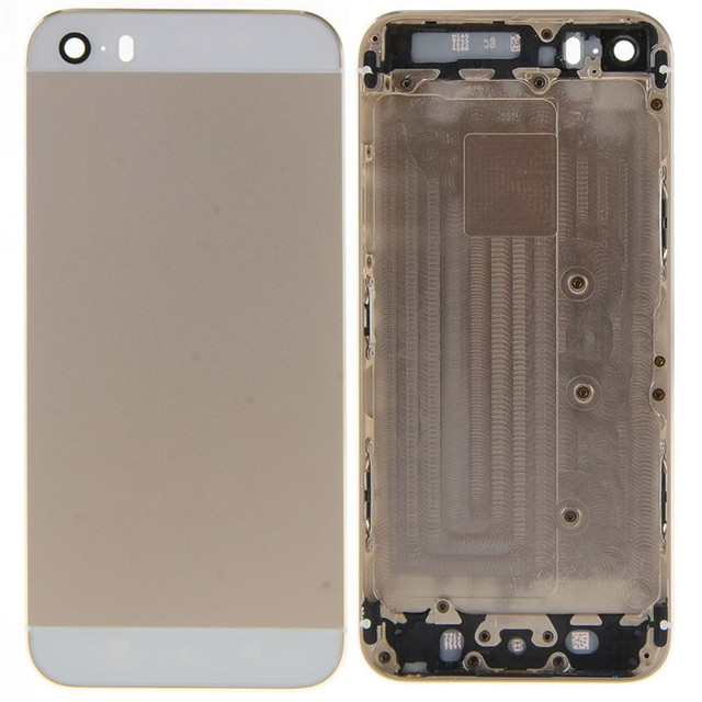 f6847b3810855f Back Cover for iPhone 5S Middle Frame Bezel Midframe Housing Battery Door  Rear Back Case Cover